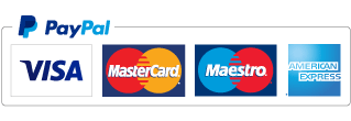 VIsa, MasterCard, Maestro and American Express accepted via PayPal